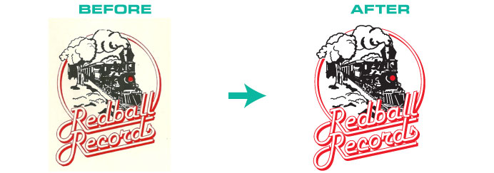 aged logo conversion
