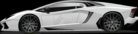 Lamborghini Aventador Vector