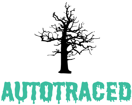 autotraced tree & text
