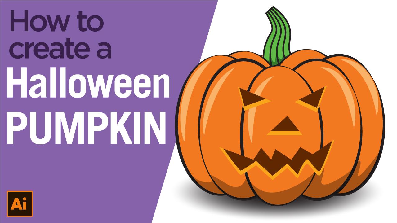 How to create a Halloween Pumpkin using Illustrator